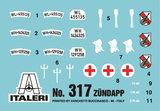 ITALERI 317 ZUNDAPP MET KS750 MET ZIJSPAN 1/35_