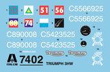 ITALERI 7402 TRIUMPH 3HW 1/9_
