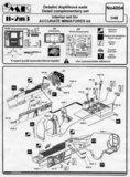 "CMK 4004 II-2M3 ""STORMOVIK""- INTERIOR SET 1/48_"