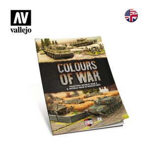 VALLEJO 75013 COLOURS OF WAR (BOEK)