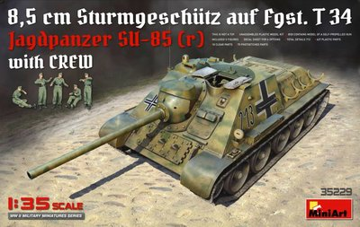 MINIART 35229 JAGDPANZER SU-85 (R) 1/35
