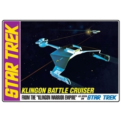AMT 720 KLINGON BATTLE CRUISER 1/650