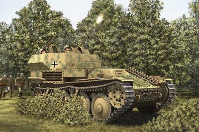 HOBBY BOSS 80140 GERMAN 2CM FLAK 38 Pz.Kpfw. 38 (t) 1/35