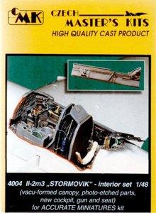 "CMK 4004 II-2M3 ""STORMOVIK""- INTERIOR SET 1/48"