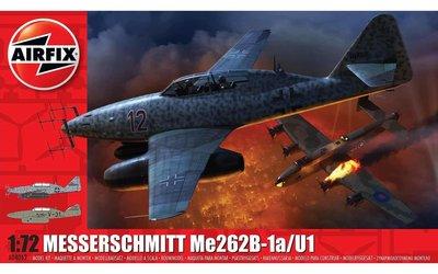 AIRFIX 04062 MESSERSCHMITT Me262B-1a/U1 1/72
