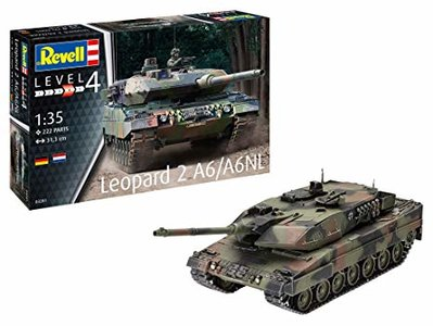 REVELL 03281 LEOPARD 2 A6/A6NL 1/35